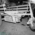 1953_Prototyp MULAG Dreirad DL-6 Lastenkuli um 1953 in der Werkstatt am Engelberg, Bad Peterstal