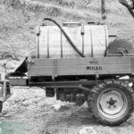 1955_Ein frühes Dreirad DM-10 mit Baumspritzanlage um 1955