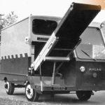 1964_Einer der ersten Förderbandwagen FBW 6000 um 1964