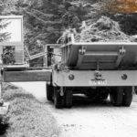 1967_Der erste Prototyp des Grabenbaggers bei der Arbeit für das Forstamt Wolfach um 1967