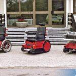 1982_Entwicklung eines Hilfsfahrzeug für Rollstuhlfahrer zusammen mit der Björn-Staiger-Stiftung